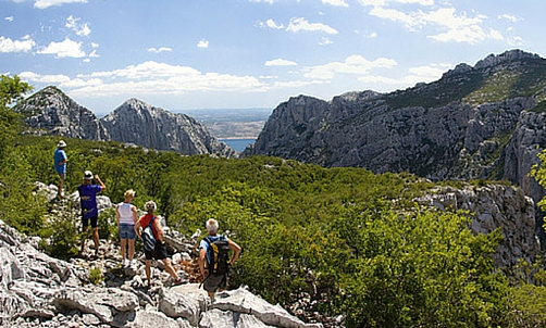 Hiking In National Park Paklenica