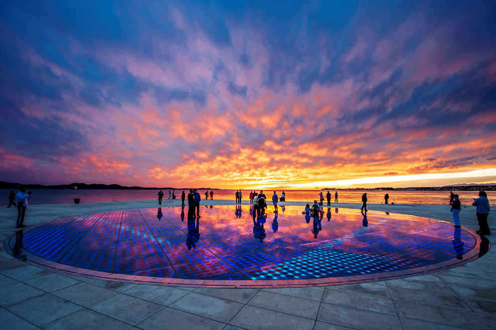greetings to the sun, zadar, sunset, travel, croatia, www.zadarvillas.com