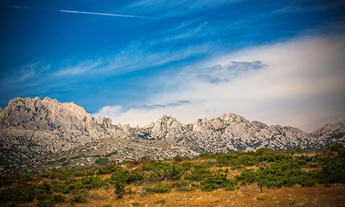 Forests in national parks Northern Velebit and Paklenica