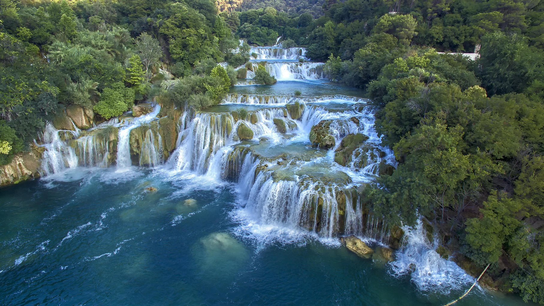 Beautiful nature in Krka National Park (photo by Ivo Biočina, Croatian Tourist Board)